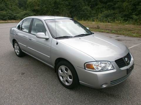 2004 Nissan Sentra for sale at Leavitt Brothers Auto in Hooksett NH