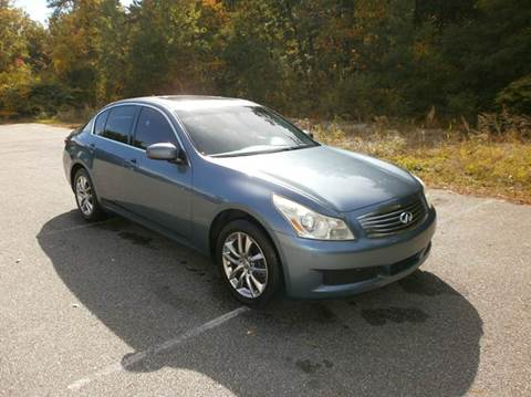 2008 Infiniti G35 for sale at Leavitt Brothers Auto in Hooksett NH