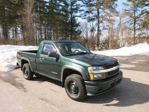 2005 Chevrolet Colorado for sale at Leavitt Brothers Auto in Hooksett NH