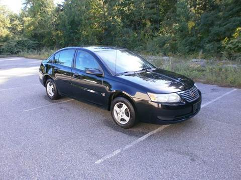 2005 Saturn Ion for sale at Leavitt Brothers Auto in Hooksett NH
