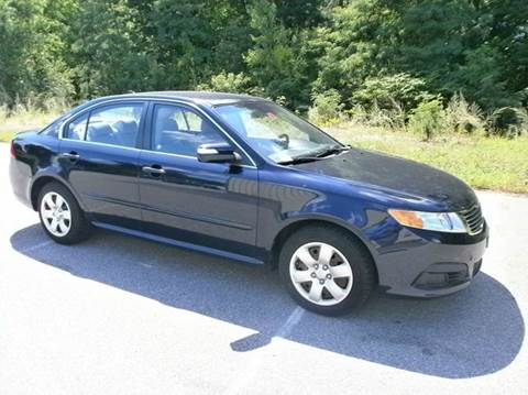 2010 Kia Optima for sale at Leavitt Brothers Auto in Hooksett NH