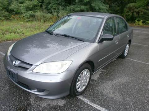 2004 Honda Civic for sale at Leavitt Brothers Auto in Hooksett NH