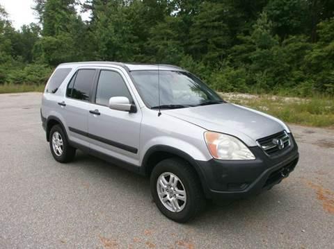 2003 Honda CR-V for sale at Leavitt Brothers Auto in Hooksett NH