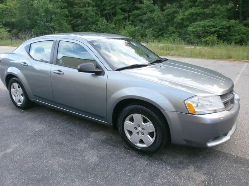 2008 Dodge Avenger for sale at Leavitt Brothers Auto in Hooksett NH
