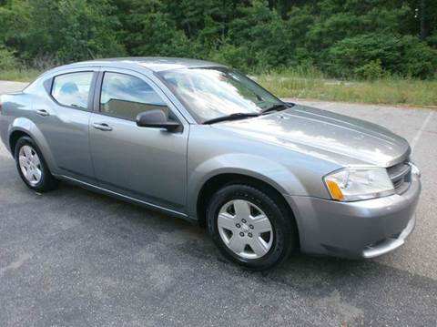 2008 Dodge Avenger for sale at Leavitt Brothers Auto in Hooksett NH
