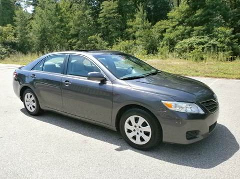 2010 Toyota Camry for sale at Leavitt Brothers Auto in Hooksett NH