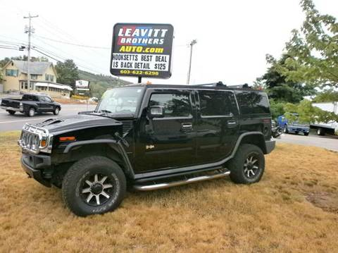 2006 HUMMER H2 for sale at Leavitt Brothers Auto in Hooksett NH