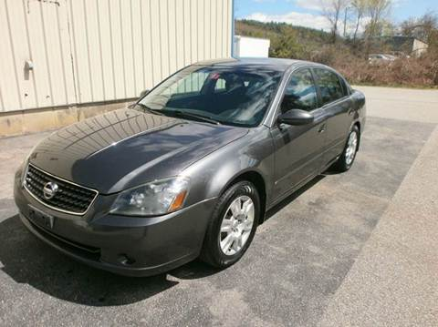 2005 Nissan Altima for sale at Leavitt Brothers Auto in Hooksett NH