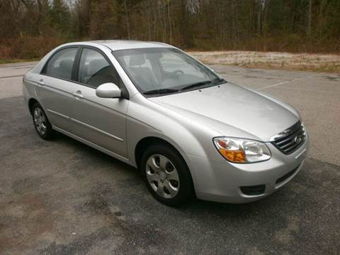 2008 Kia Spectra for sale at Leavitt Brothers Auto in Hooksett NH