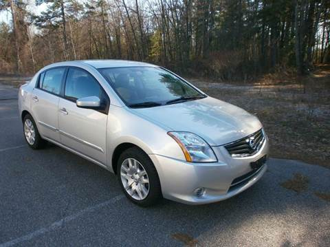 2012 Nissan Sentra for sale at Leavitt Brothers Auto in Hooksett NH
