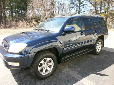 2003 Toyota 4Runner for sale at Leavitt Brothers Auto in Hooksett NH