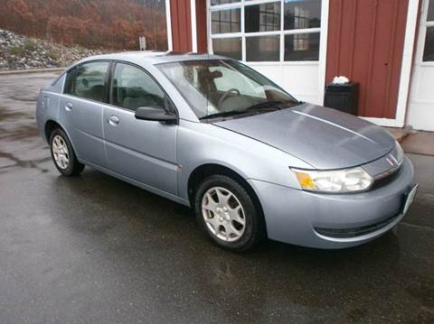 2003 Saturn Ion for sale at Leavitt Brothers Auto in Hooksett NH