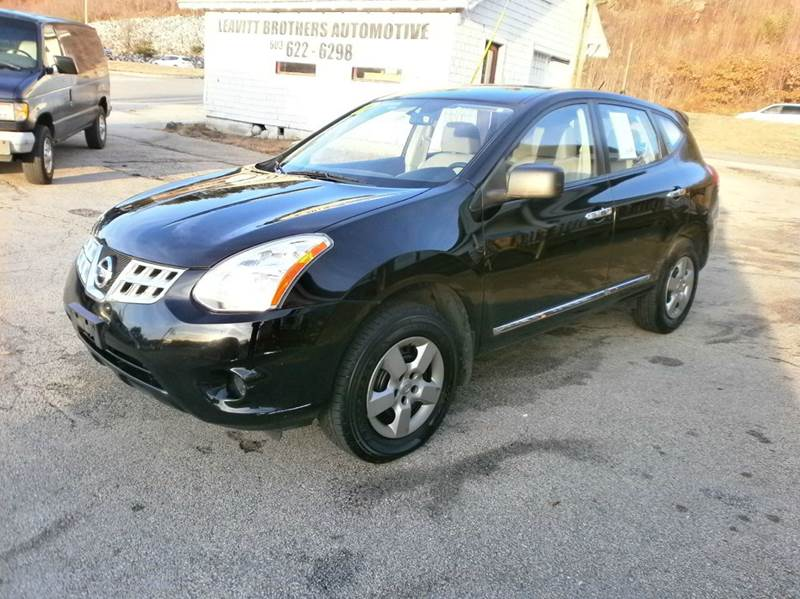 2012 Nissan Rogue for sale at Leavitt Brothers Auto in Hooksett NH