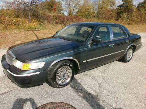 1998 Mercury Grand Marquis for sale at Leavitt Brothers Auto in Hooksett NH