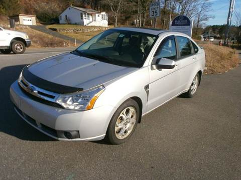 2008 Ford Focus for sale at Leavitt Brothers Auto in Hooksett NH