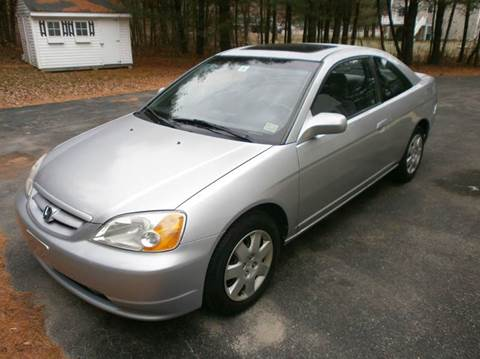 2002 Honda Civic for sale at Leavitt Brothers Auto in Hooksett NH