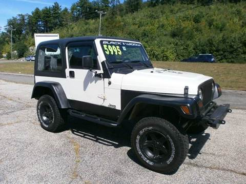 1999 Jeep Wrangler for sale at Leavitt Brothers Auto in Hooksett NH