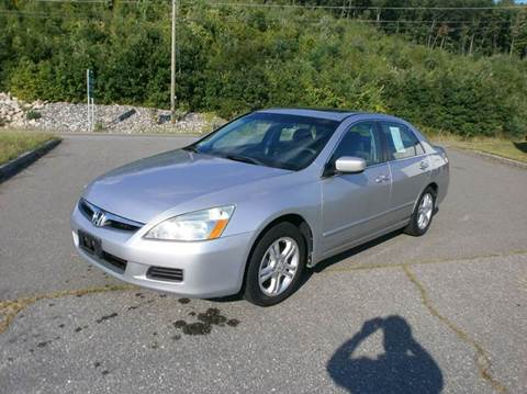 2007 Honda Accord for sale at Leavitt Brothers Auto in Hooksett NH