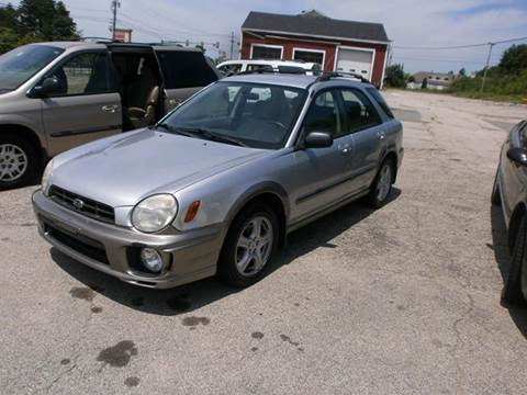 2002 Subaru Impreza for sale at Leavitt Brothers Auto in Hooksett NH