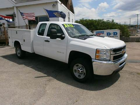 2012 Chevrolet Silverado 2500HD for sale at Leavitt Brothers Auto in Hooksett NH