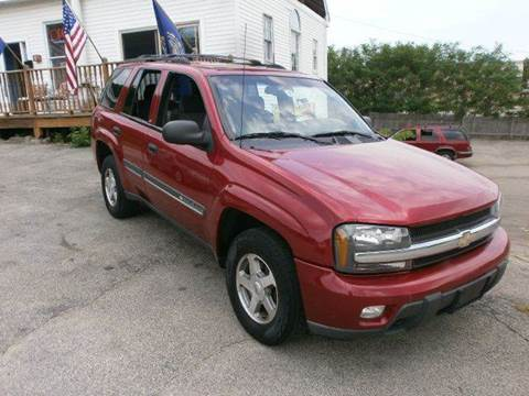 2002 Chevrolet TrailBlazer for sale at Leavitt Brothers Auto in Hooksett NH