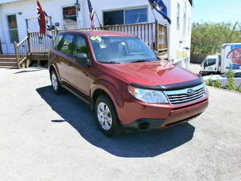 2009 Subaru Forester for sale at Leavitt Brothers Auto in Hooksett NH
