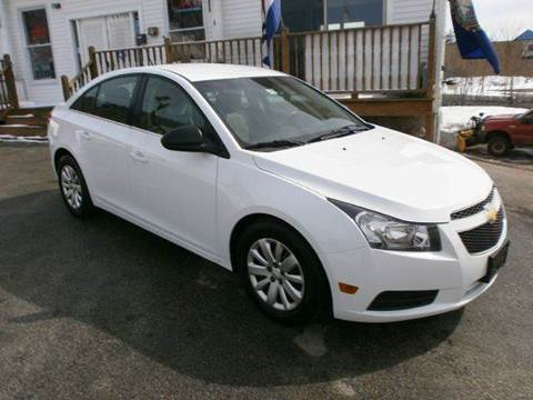 2011 Chevrolet Cruze for sale at Leavitt Brothers Auto in Hooksett NH