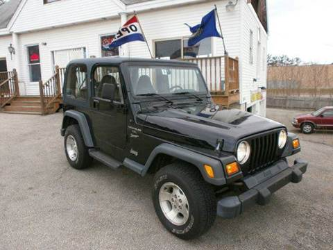 2000 Jeep Wrangler for sale at Leavitt Brothers Auto in Hooksett NH
