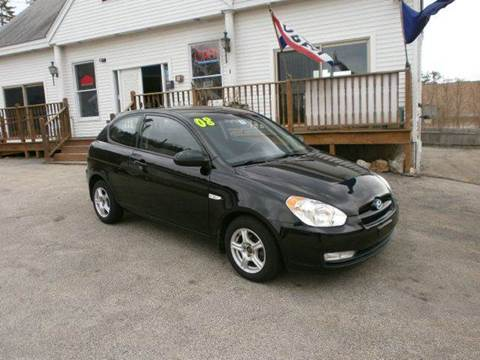2008 Hyundai Accent for sale at Leavitt Brothers Auto in Hooksett NH
