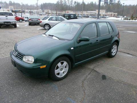 2001 Volkswagen Golf for sale at Leavitt Brothers Auto in Hooksett NH