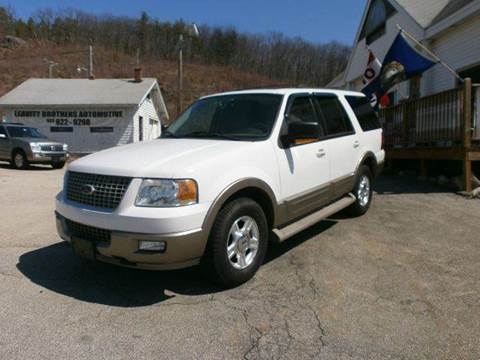 2004 Ford Expedition for sale at Leavitt Brothers Auto in Hooksett NH