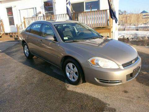 2006 Chevrolet Impala for sale at Leavitt Brothers Auto in Hooksett NH