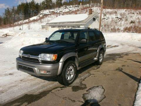 2002 Toyota 4Runner for sale at Leavitt Brothers Auto in Hooksett NH
