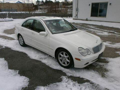 2004 Mercedes-Benz C-Class for sale at Leavitt Brothers Auto in Hooksett NH