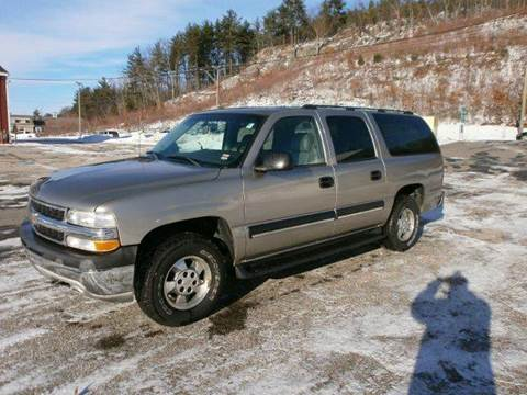 2003 Chevrolet Suburban for sale at Leavitt Brothers Auto in Hooksett NH