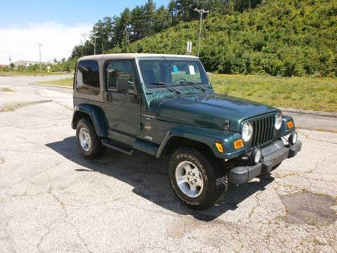 2001 Jeep Wrangler for sale at Leavitt Brothers Auto in Hooksett NH