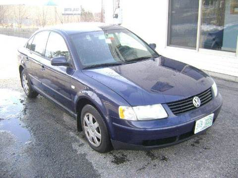 2001 Volkswagen Passat for sale at Leavitt Brothers Auto in Hooksett NH