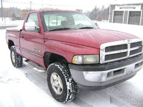 1997 Dodge Ram Pickup 1500 for sale at Leavitt Brothers Auto in Hooksett NH