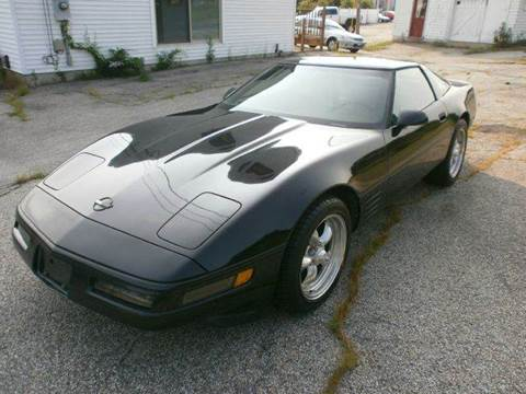 1992 Chevrolet Corvette for sale at Leavitt Brothers Auto in Hooksett NH