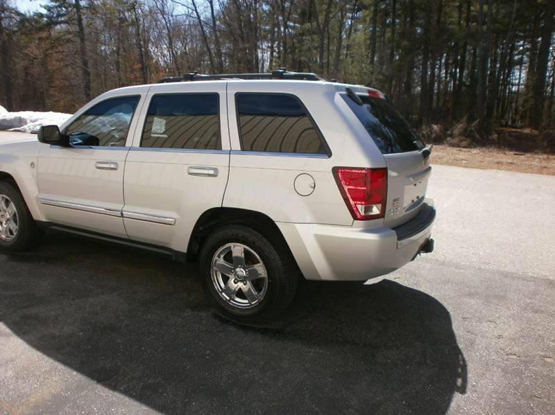 2006 Jeep Grand Cherokee Limited 4dr SUV 4WD w/ Front Side Airbags - Hooksett NH