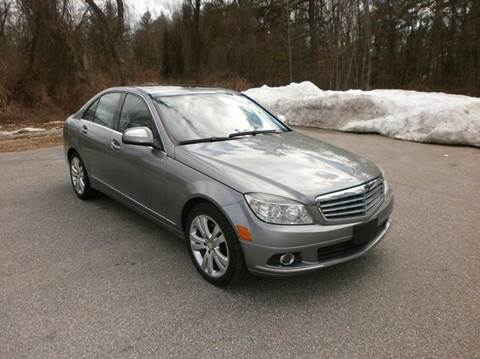 2008 Mercedes-Benz C-Class for sale at Leavitt Brothers Auto in Hooksett NH