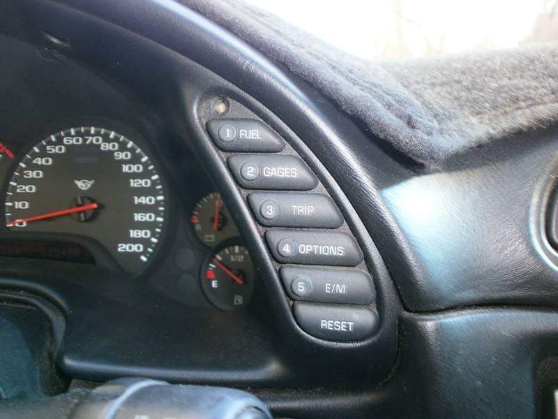 1998 Chevrolet Corvette 2dr Hatchback - Hooksett NH