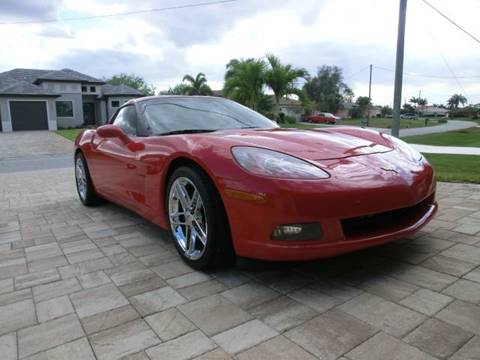 2007 Chevrolet Corvette for sale in Cape Coral, FL