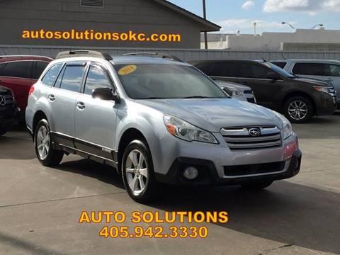 2014 Subaru Outback for sale in Oklahoma City, OK