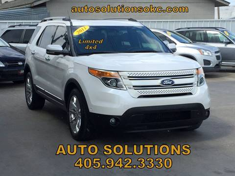 2011 Ford Explorer for sale in Oklahoma City, OK