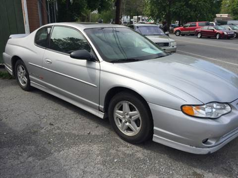 2001 Chevrolet Monte Carlo for sale in New Windsor, NY