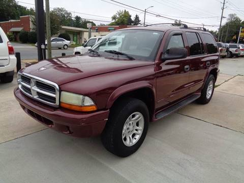 2002 Dodge Durango for sale in Asheboro, NC
