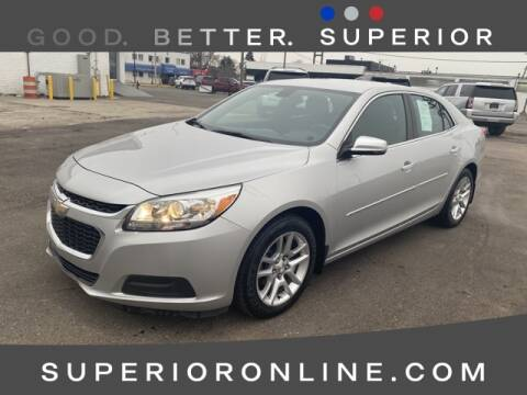 2016 Chevrolet Malibu Limited LT for sale at Superior Buick GMC - Superior Pre-Owned Supercenter in Dearborn MI