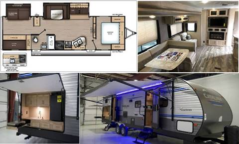 2019 Coachmen Catalina Legacy 323BHDSCK for sale at S & M WHEELESTATE SALES INC - Camper in Princeton NC