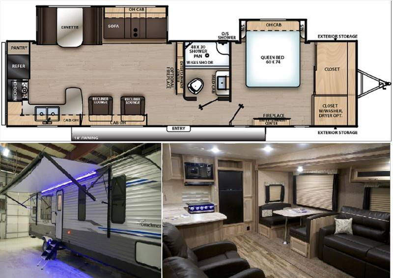 2020 Coachmen Catalina Legacy 303rkds Travel Trailers In
